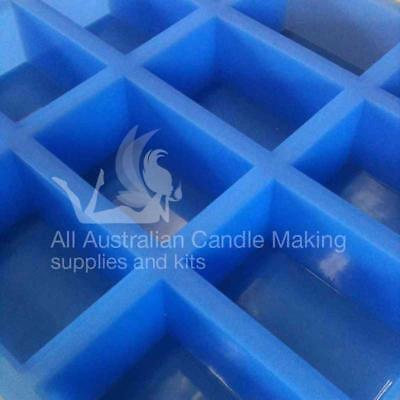 Rectangular - 12 cavities Silicon Soap Mould