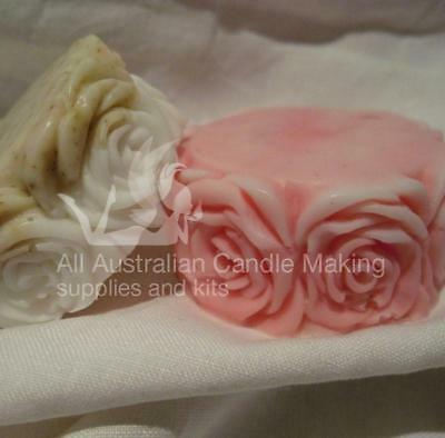 Rose on the side Silicon Soap Mould