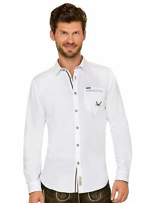 Stockerpoint Traditional Shirt Long Sleeve Modern Fit Musk White