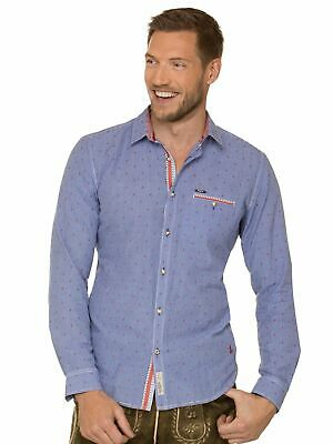 Stockerpoint Traditional Shirt Long Sleeve Modern Fit Taylor Blue
