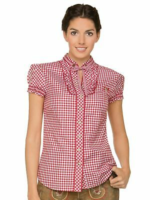 Stockerpoint Traditional Costume Blouse Enza Red