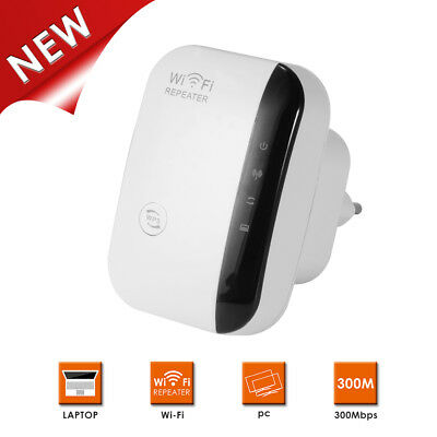 300Mbps Mini Wireless N Router Wifi Repeater Long Range Extender Booster AC1051