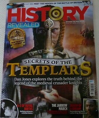 History Revealed Magazine-April 2018-Issue 54-Secrets Of The Templars