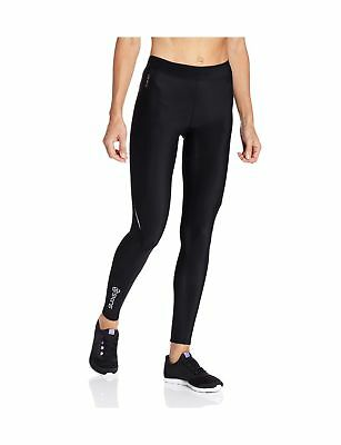 Skins A200 Women's Compression Long Tights Black/Black Small