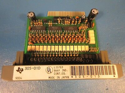 Texas Instrument 305-20N Input Module for DL-305