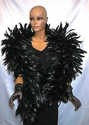 Coque Feather Boa - BLACK - Outstanding Show Biz Quality