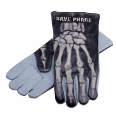 New Save Phace PPE Leather Welding Gloves Apparel Gear Bones Large/X-Large L/XL