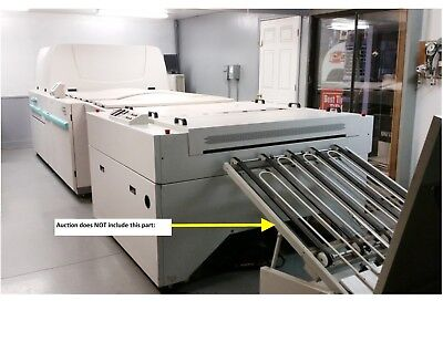Fuji Saber VX9600 platemaker with auto loader and plate processor