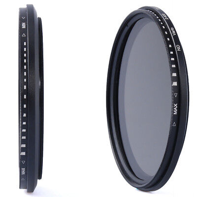 67mm Slim Fader ND Filter Variable Neutral Density Adjustable ND2 to ND400 LF306