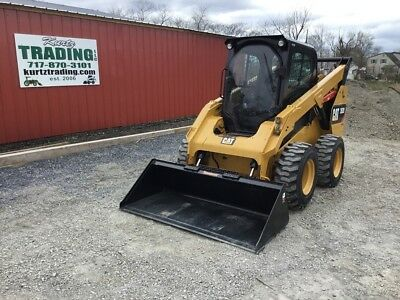 2016 Caterpillar 262D Skid Steer Loader w/Cab! Coming in Soon!