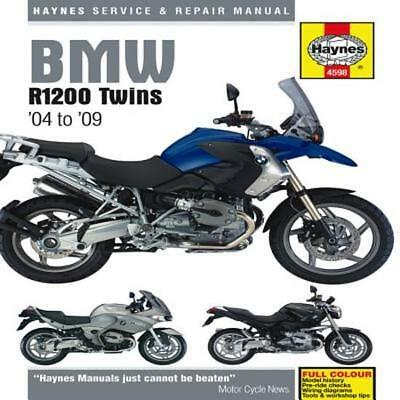 Haynes Workshop Service Repair Manual for BMW R1200 GS R RT ST Twins 2004-2009