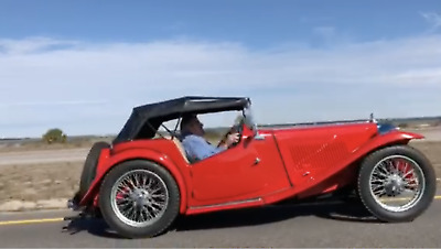 1946 MG TC Coupe 1946 MG TC