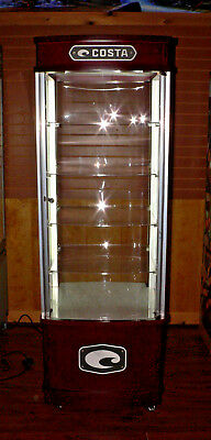 Costa LED Lighted Display Cabinet - EUC