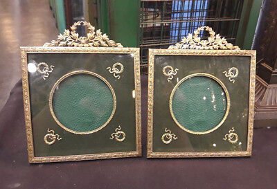 Antique Pair Of French Empire Style Pictures Frame