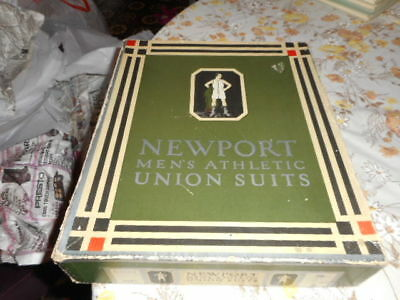 vtg newport mens athletic union suits in the box