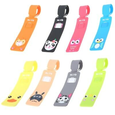 Cute Travel Luggage Tags Suitcase Label Name Address ID Bag Baggage Tag