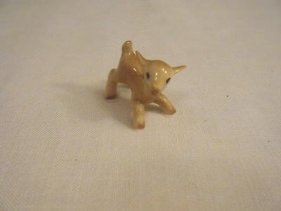 Hagen Renaker Miniature  Golden Brown Goat Kid  A-3120  Hard To Find