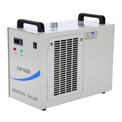 110V 60HZ Industrial Water Chiller Cool Single 80W 100W CO2 Laser Tube CW-5000