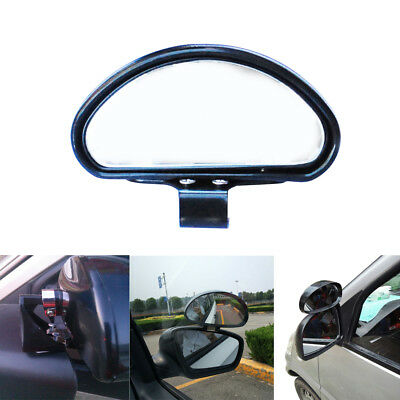 1x Car Safety Universal Vehicle Side Blindspot Blind Spot Mirror Wide Angle View
