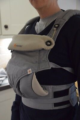 Ergobaby 360 Four Position Baby Carrier Sling GREY