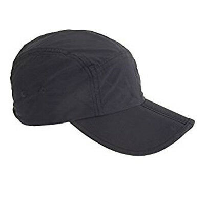Tom Franks Mens Baseball Cap With Folding Peak in 2 Colours - One Size