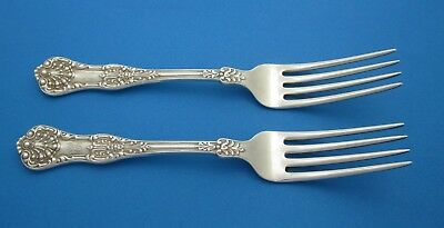 Pair (2) Dominick & Haff Forks New King Pattern Circa 1898