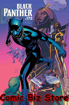 Black Panther #172 (2018) 1St Printng Bagged & Boarded Marvel Legacy Tie-In