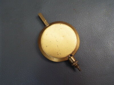 Vintage brass and metal clock pendulum - spares parts