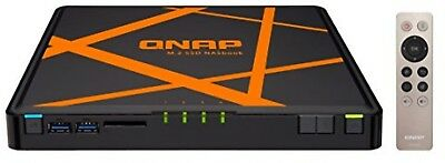 QNAP TBS-453A-4G 4 Bay Desktop M.2 Network Attached Storage Enclosure with 4 GB