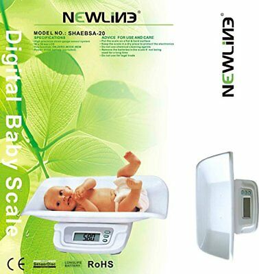 Newline Digital Weight Track Baby Scales White