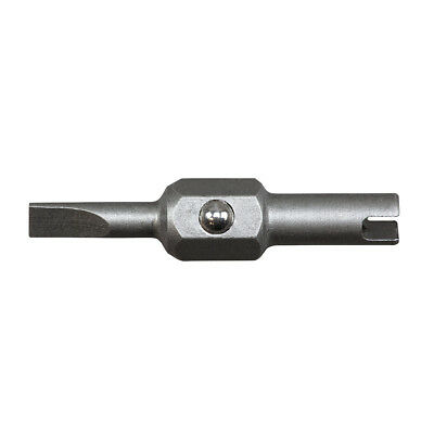 """Klein Tools 13231 Replacement Bit - 1/8"""" Slotted and Schrader®"""
