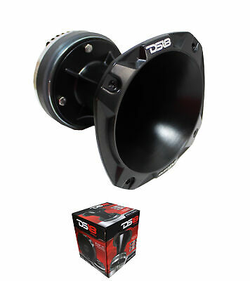 "DS18 PRO-DKH1 2"" Compression Super Tweeter Driver w/ Aluminum Horn 8 ohm 1000W"
