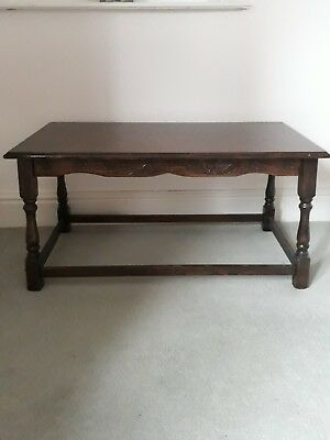 Oak wooden table (Arts and crafts)