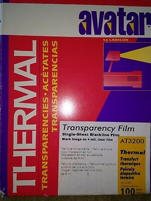 Avatar Thermal Transparency Film Approx 60 - AT3200