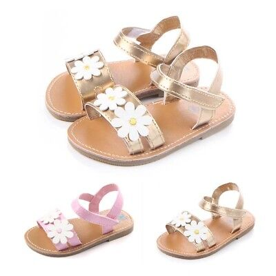 Girl's Sandal Toddler Baby Kids Girl Child Sandles Nonslip Princess Summer Shoes