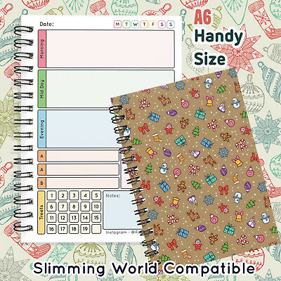 Food Diary Diet Journal Slimming World Compatible Weight Loss Tracker BookSUMMER