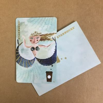 Starbucks China Special Edition Cute Mermaid MSR Card