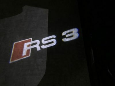 Audi Rs3 Logo Led Puddle Projector Ghost Door Lights For Rs3 S3 A3