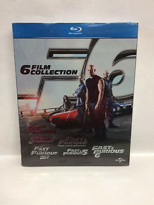 Fast & Furious - 6 Film Collection - Cofanetto Blu Ray