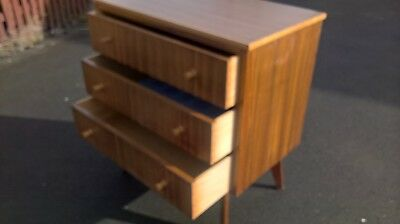 Mid Century 1950S Morris Of Glasgow Sighned Chest Of Drawers.