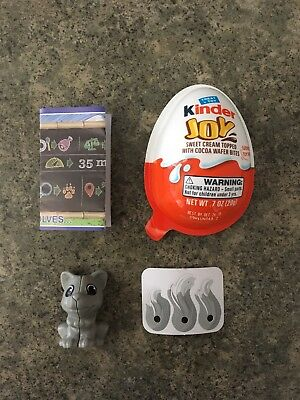 Kinder Joy Surprise Eggs Rare Toy Wolf Free Shipping