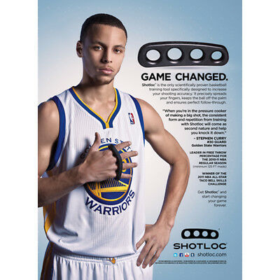 SHOT LOC SKLZ - STEPHEN CURRY Workout - Basketball - Perfectionnement du shoot