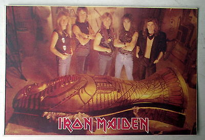 Carte postale Iron Maiden , editions Euro Images  postcard