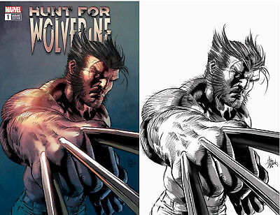 Hunt For Wolverine 1 Marvel Mike Deodato Color Sketch Set 2 Variant (04/25/2018)