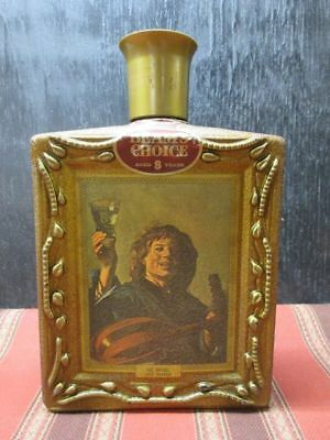 VINTAGE 1971 Beam's Choice Decanter - The Merry Lute Player