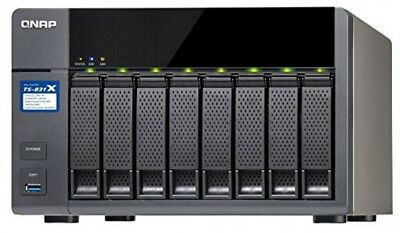 QNAP TS-831X 8-Bay Network Attached Storage Enclosure with 8 GB RAM