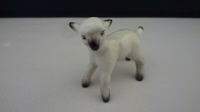 Miniature England Porcelain Bone China Lamb Sheep Figurine