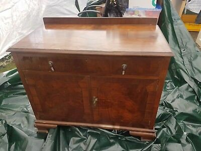 Maple & Co 1920's sideboard, cupboard, vintage upcycle project