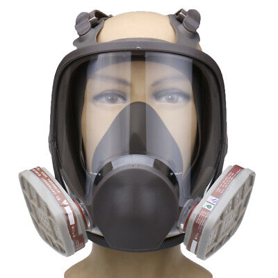 Silicone Facepiece Respirator 6800 Full Face Gas Mask Painting Spraying Protecti