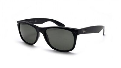 Ray-Ban Sunglasses RB2132 901/58 New Wayfarer Black Frame Green Polarized Lens